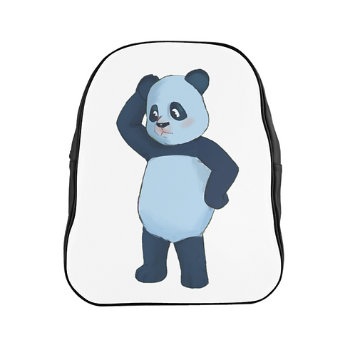 Perry Blue Panda Backpack