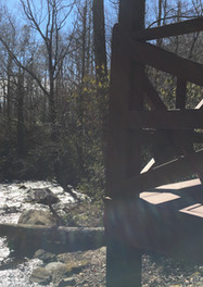 cabin 1 downstream view