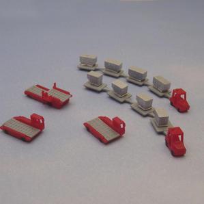Cargo set I (red), € 16