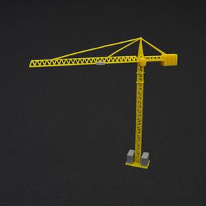 Construction crane (gray/yellow), € 20