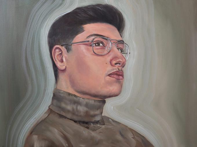 Portrait study of Ali