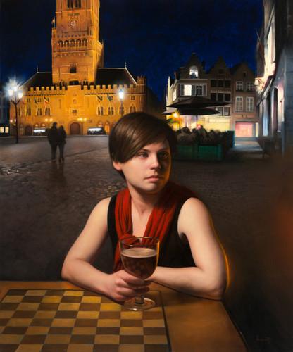 In Bruges- City Landscape Art
