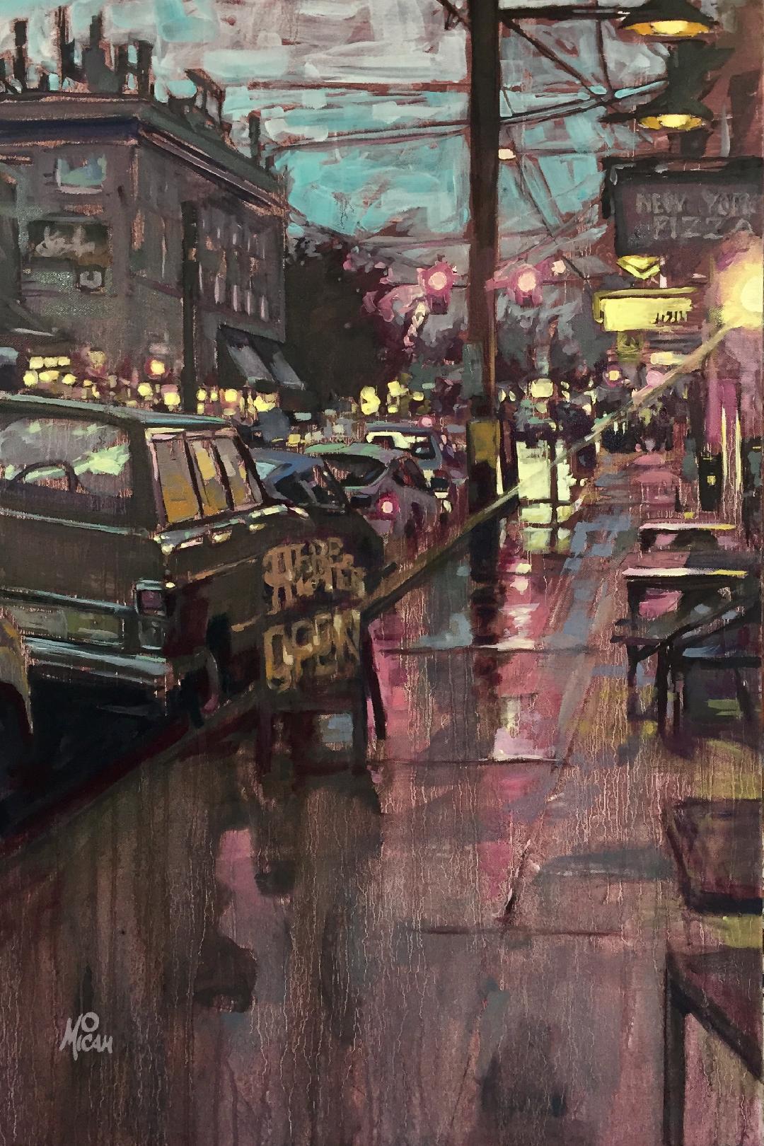 Rainy Belmount