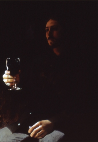 Man With Wine Glass