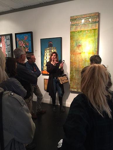 Talking about art