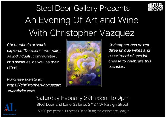 Steel Door Gallery Presents An Evening O