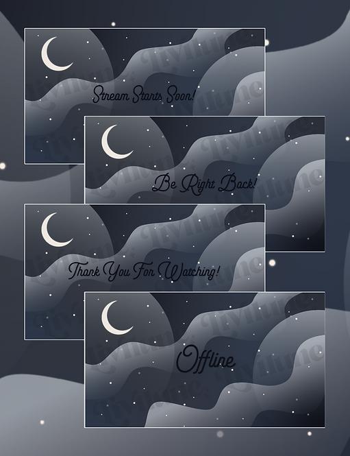 Midnight Dreams Status Screens