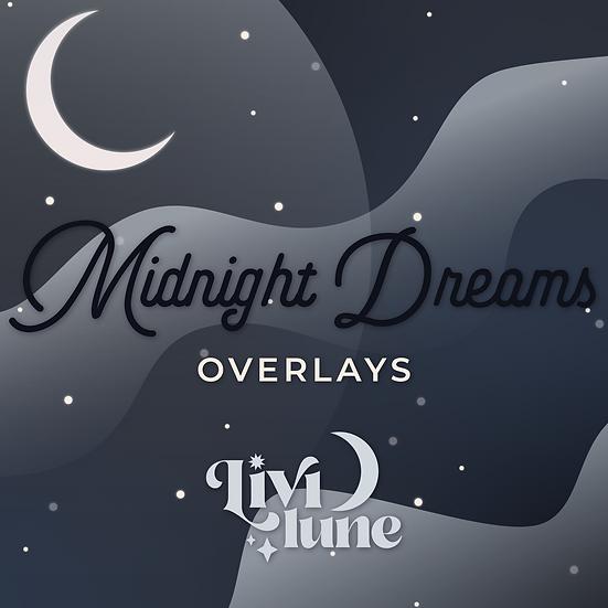 Midnight Dreams Overlays