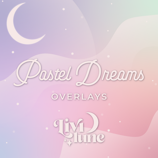 Pastel Dreams Overlays