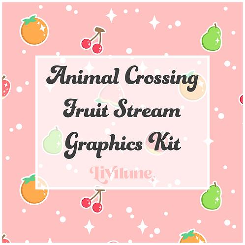 Island Fruit Stream Graphics Kit