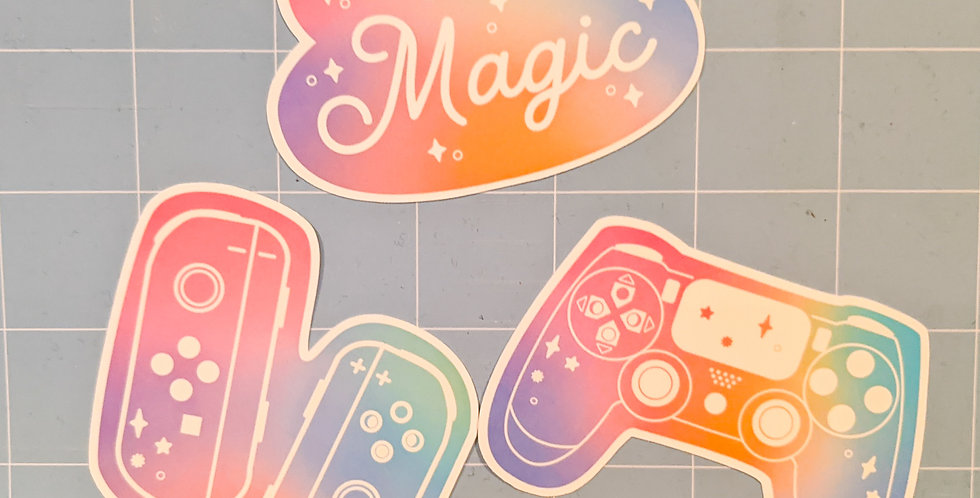 Gaming Magic Sticker Pack