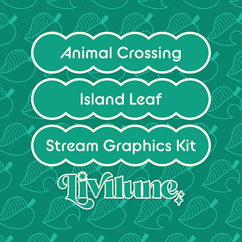 Tropical Leaf Stream Graphics Kit