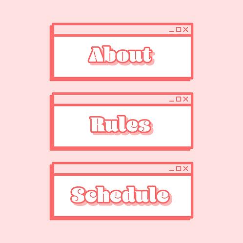 Pink Retro Panels