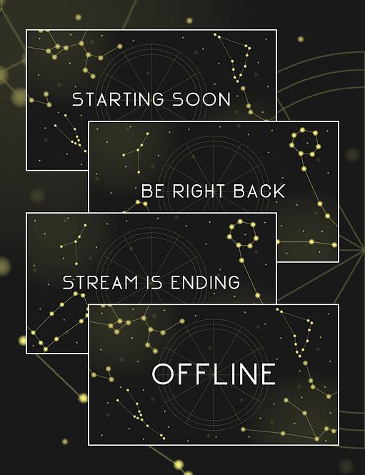 Dark Zodiac Status Screens