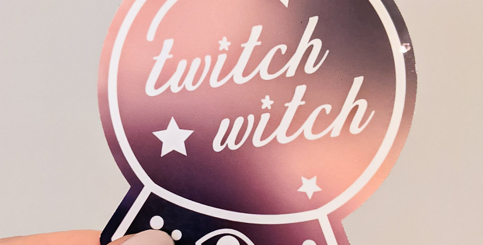 Twitch Witch Sticker