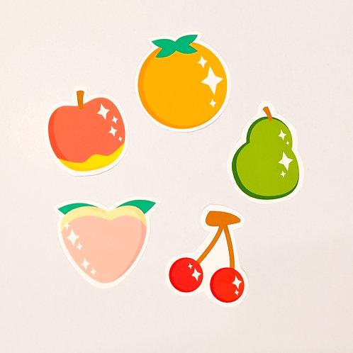 Animal Crossing Fruit Sticker Pack