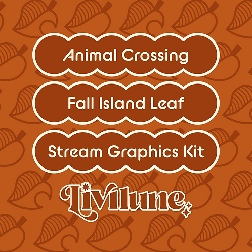 Fall Leaf Stream Graphics Kit