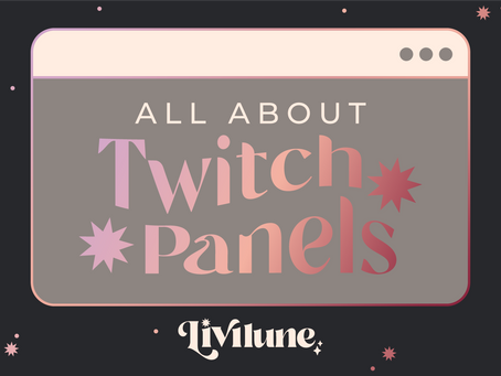 All About Twitch Panels