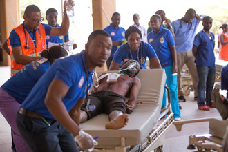 Komfo Anokye Teaching Hospital Holds First Mass Casualty Incident Moulage Simulation for KNUST ER Nu