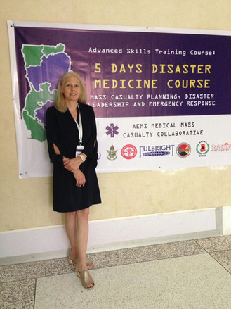 Accredited Disaster Medicine Course Taught by Richter a Huge Success