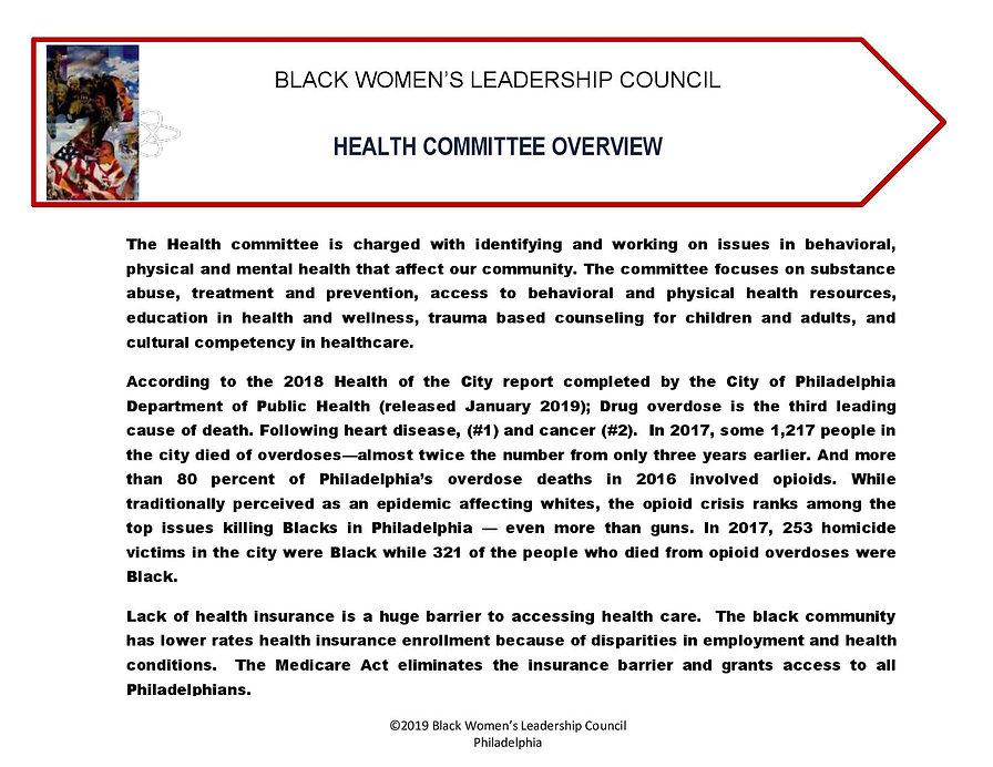 BWLC_ReportCard 2019 HEALTH_Coversheet-p