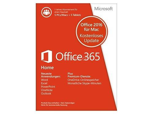 Office 365 Home 2016 für MAC