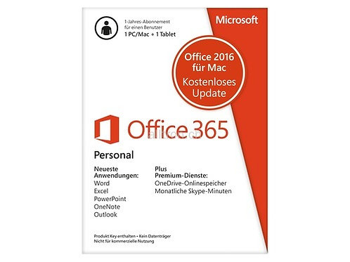 Microsoft Office 365 Personal deutsch
