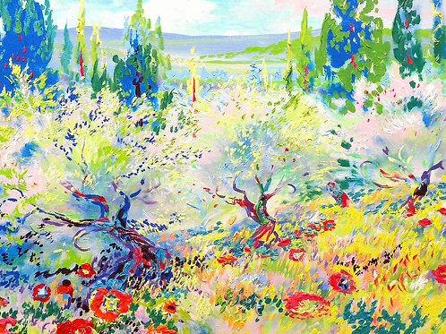 """Limited Edition Giclee Print - Splendor of the Lovely 21""""x 28"""""""