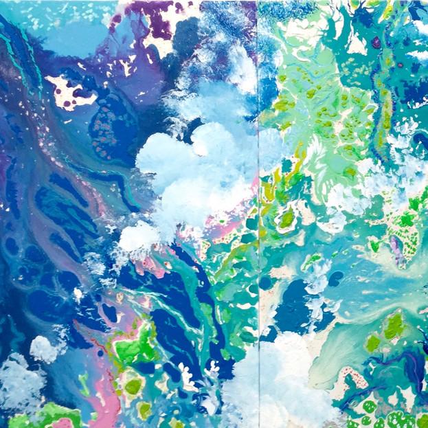 Tidepools Troposfera Series Triptych Opus III