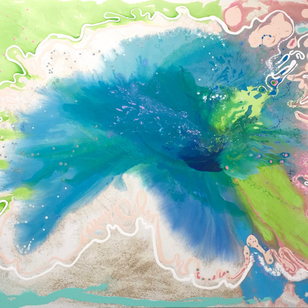 Tidepools 'eau fluer'