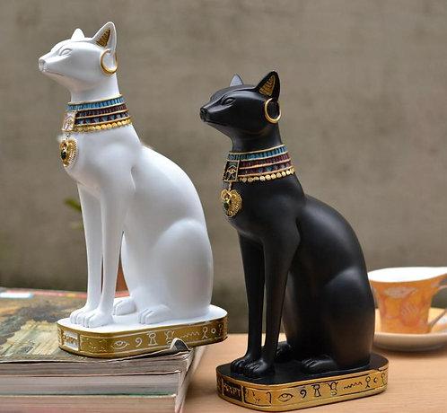 24 cm Egyptian Mythology Bastet Cat God Home Decor