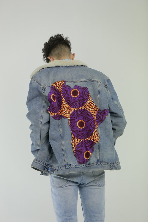 Africa Denim Jacket