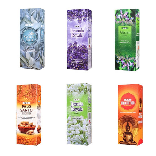 1 Small Box Indian Incense Sticks for Meditation