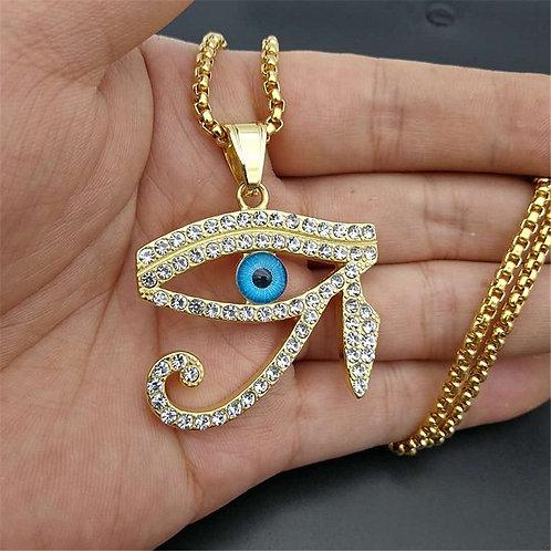 Egyptian the Eye of Heru / Horus Pendant Necklace for Women/Men