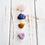 Thumbnail: Forgiveness, Love & Compassion: Rose Quartz, Sodalite, Amethyst & Yellow Jasper