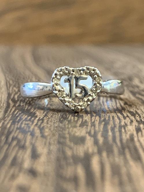 15 Heart Ring