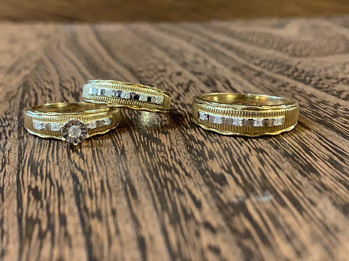 Trio Wedding Set