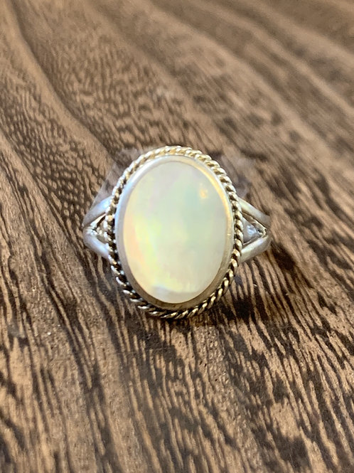 Mother of Pear Ring