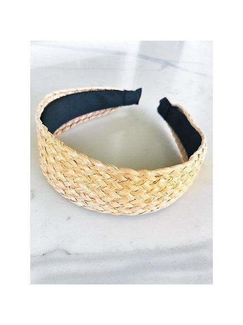 Flat Hyacinth Woven Headband