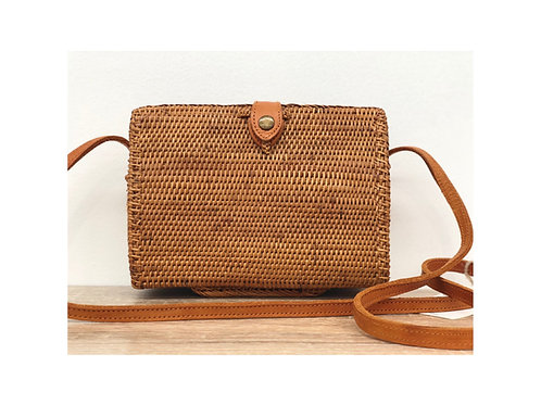 Rectangle Rattan Woven Bag
