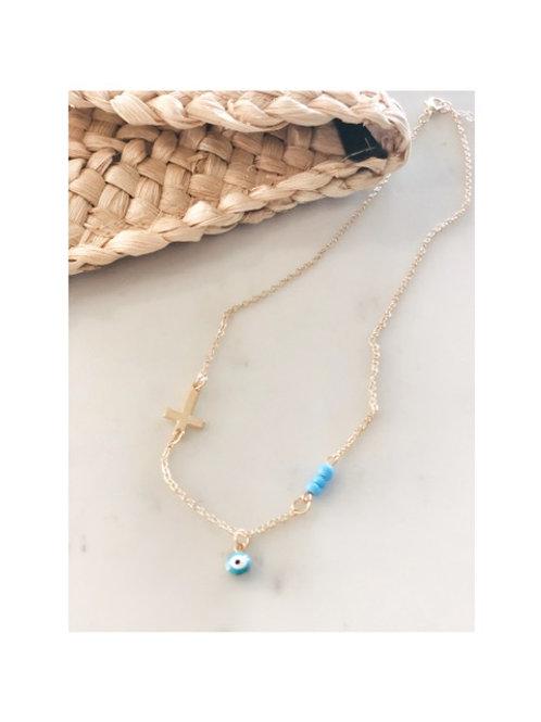 Positivity Gold Necklace