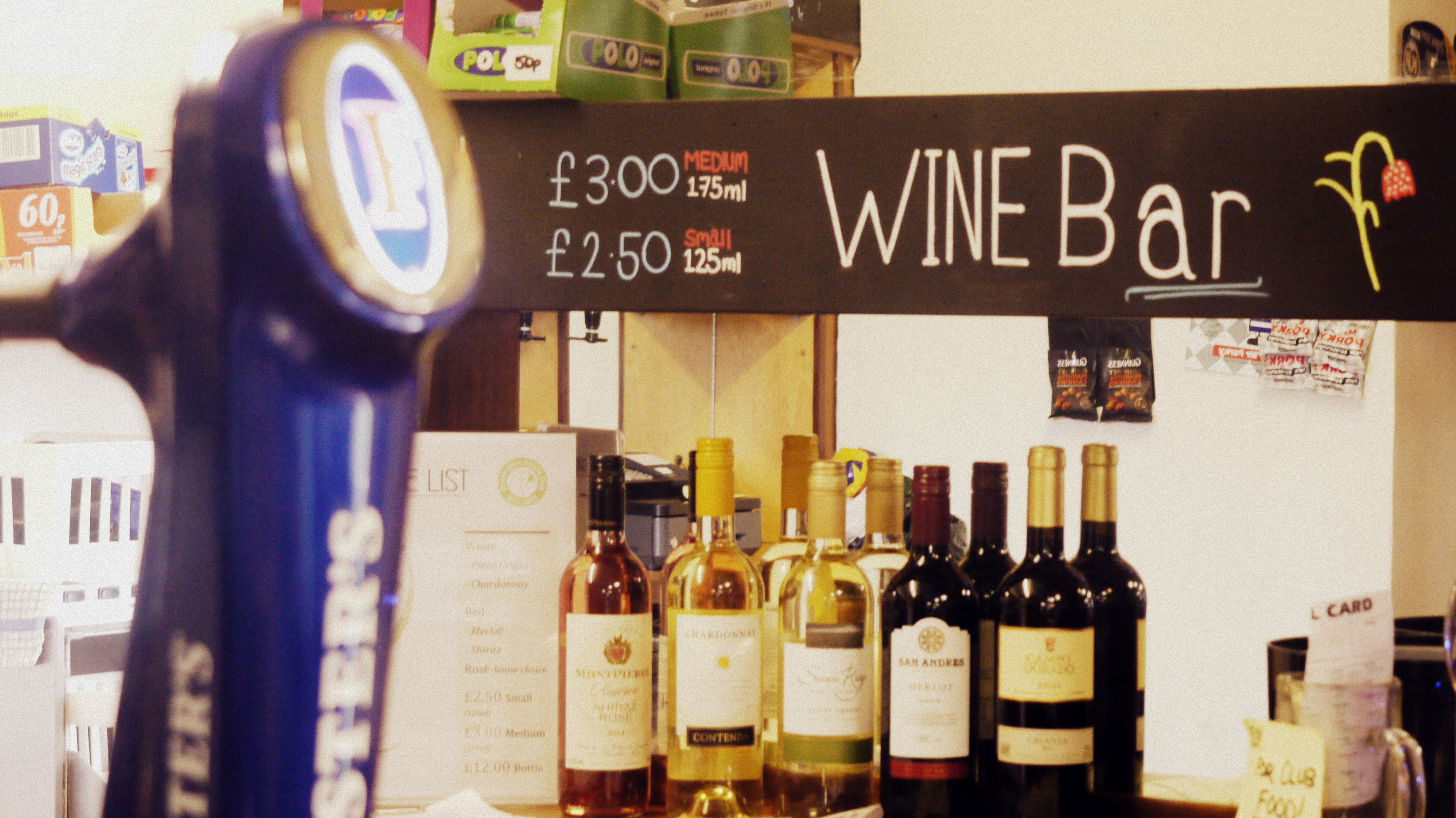 Our wine bar