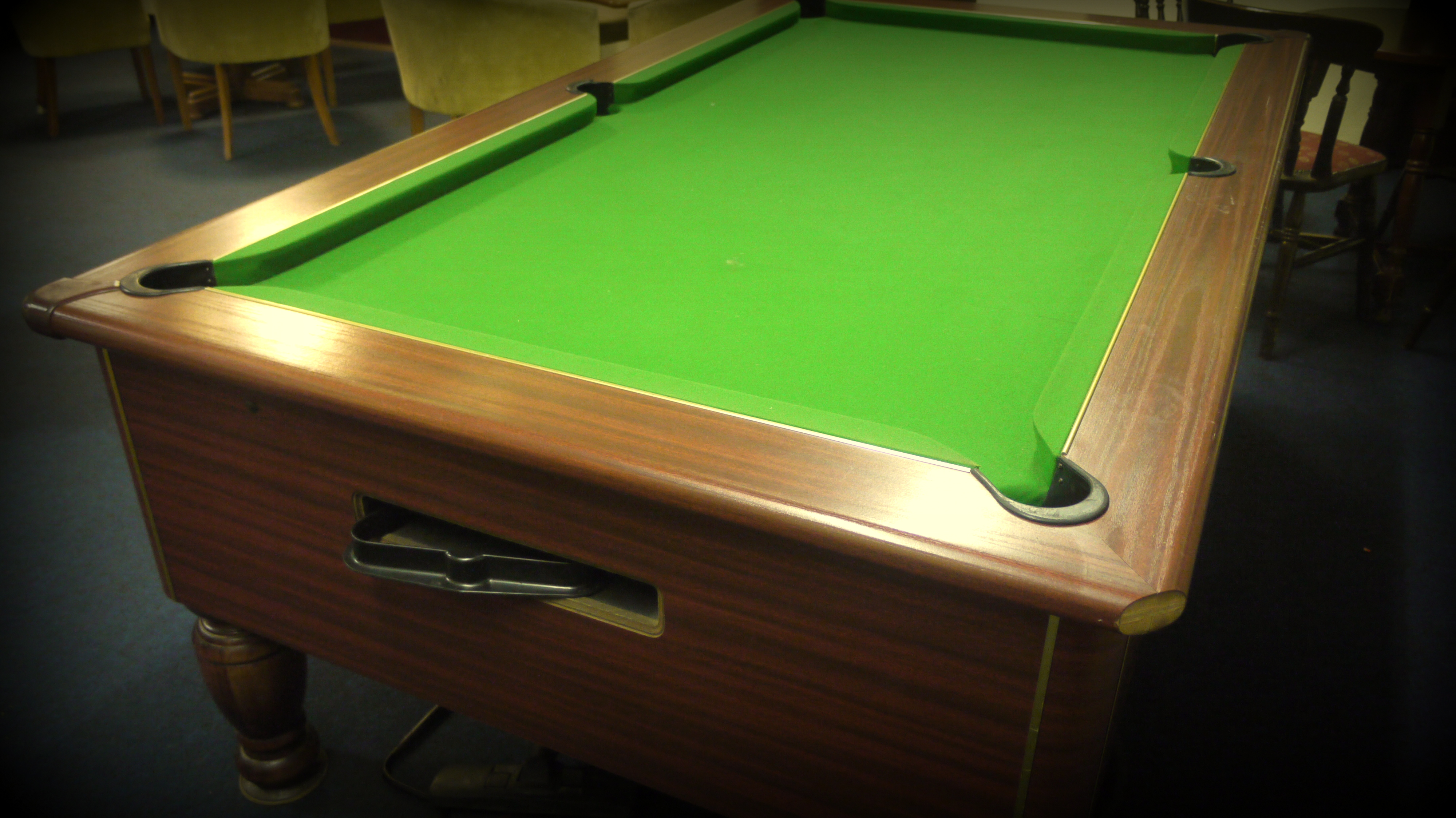Our pool table