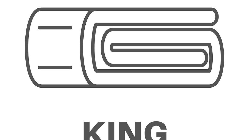 Lavado de cubrecamas King