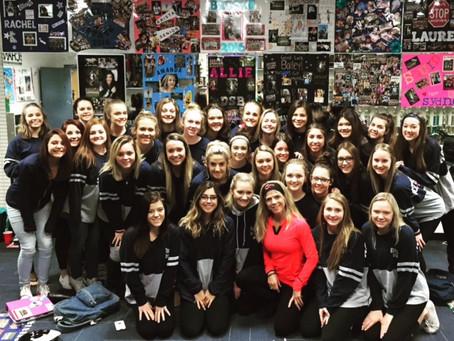 January 2016 Qlife Success Story Cactus Shadows Varsity Cheer Team