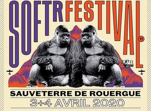 SOFT'R Festival #11 les 3 et 4 avril 2020