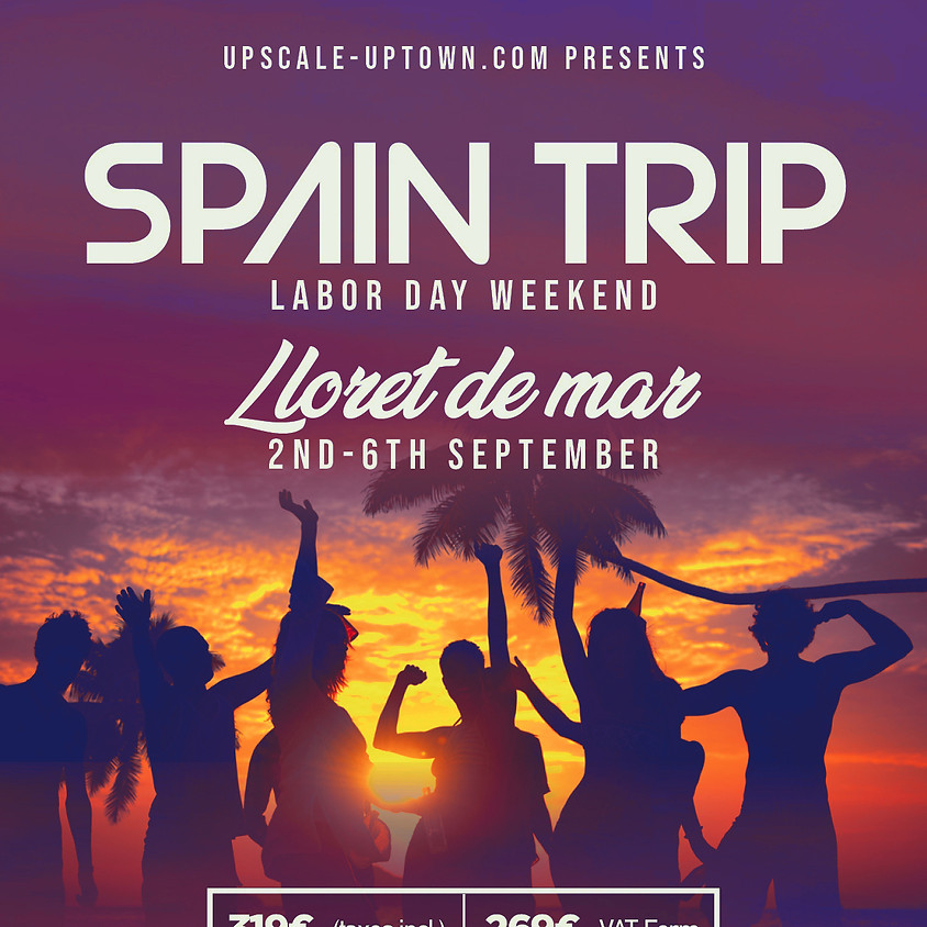 SPAIN TRIP Labor Day Weekend