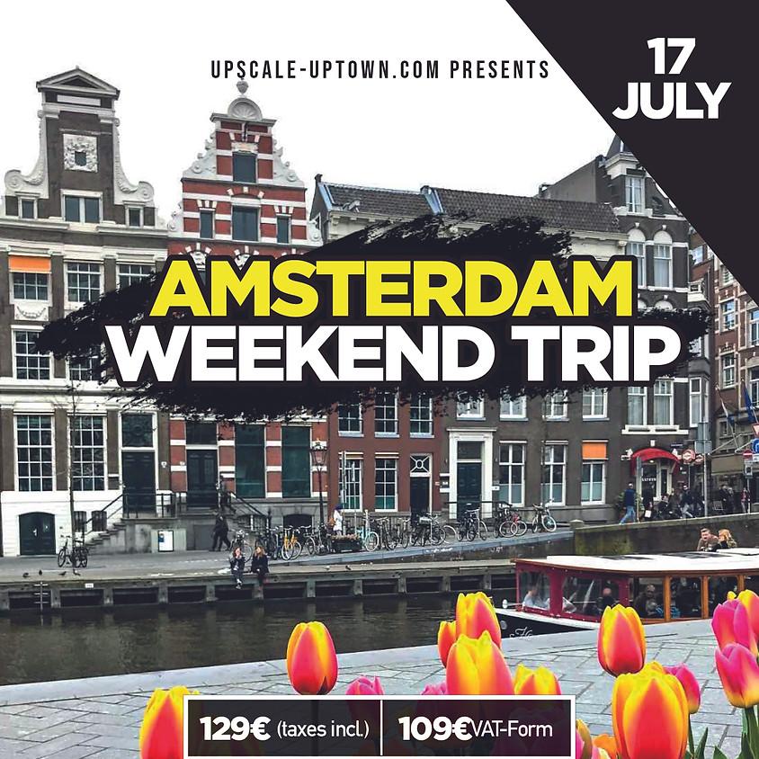 AMSTERDAM WEEKEND TRIP