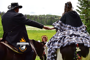 Heiraten auf einer Ranch in Kanada