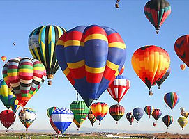 Ballonfliegen oder Besuch des Balonfestival